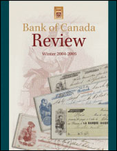 BoC Review - Winter 2004-2005