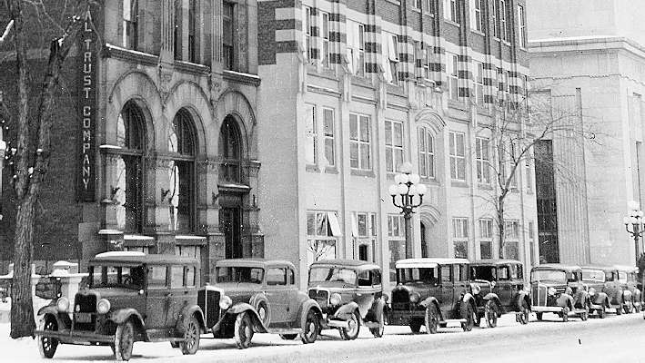 Victoria Building, 140 Wellington Street, First office of the Bank of Canada (1935-1938)