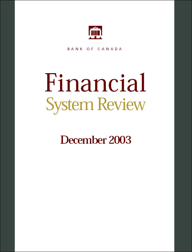 Financial System Review - December 2003