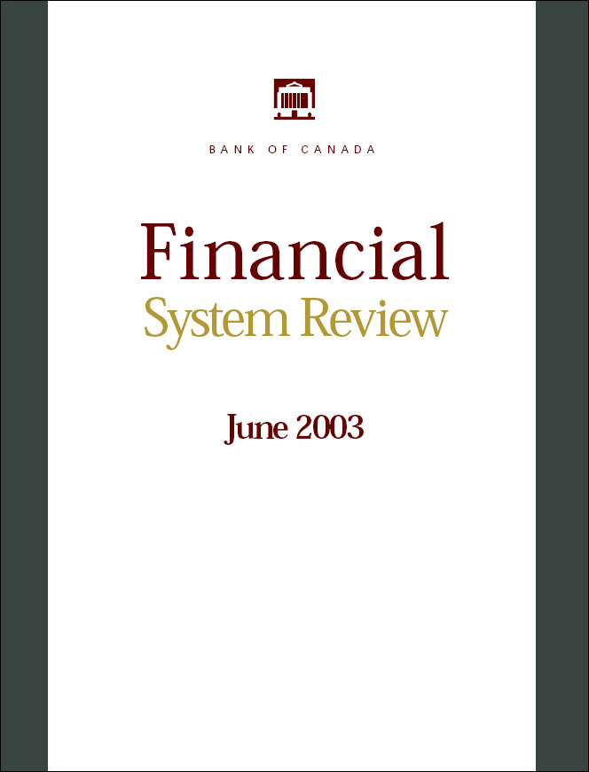 Financial System Review - June 2003