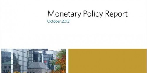 Monetary Policy Report - October 2012