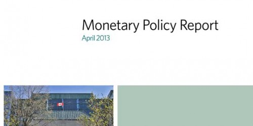 Monetary Policy Report - April 2013