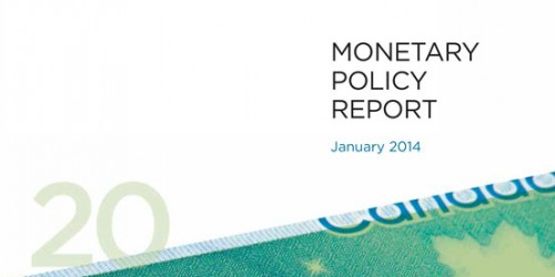 Monetary Policy Report - January 2014