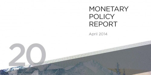 Monetary Policy Report - April 2014