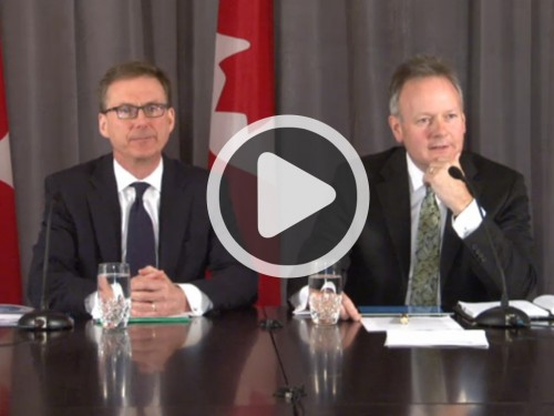 Monetary Policy Report - April 2014 - Video