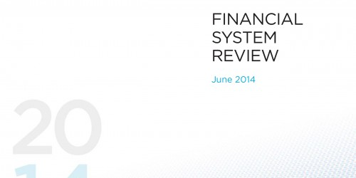 Financial System Review - June 2014