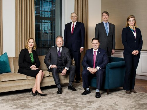 Members of the Governing Council and the Chief Operating Officer.