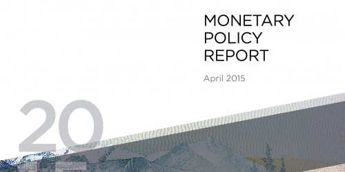 Monetary Policy Report - April 2015