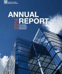 annual report 2014 bank of canada