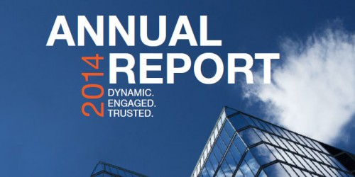 Annual Report 2014 - Cover