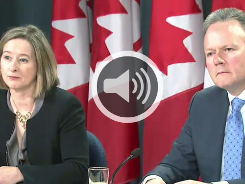 Monetary Policy Report - Speech - Audio - April 2015