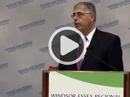 Speech - Lawrence Schembri Video