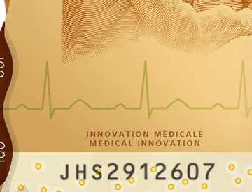 A healthy heart rhythm can be maintained with a Canadian invention: the pacemaker.