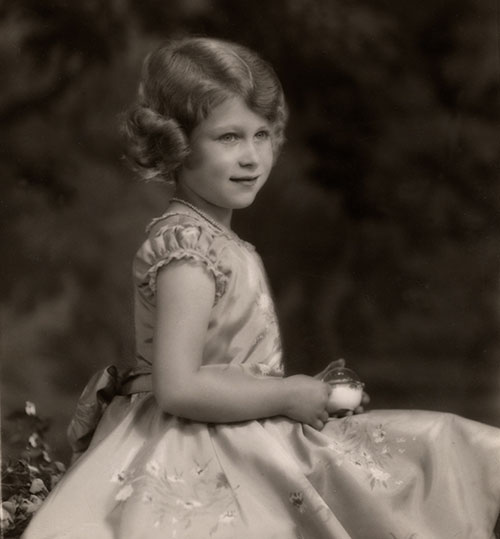 Princess Elizabeth, photograph by Marcus Adams (1875–1959), print, 1932, acquired in 1990 from Christie's, National Currency Collection, #1990.0043.00130