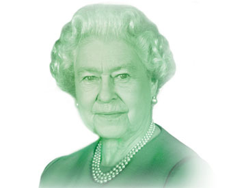 The Bank's approach is to develop a current depiction of Queen Elizabeth II whenever a new series of bank notes is issued.