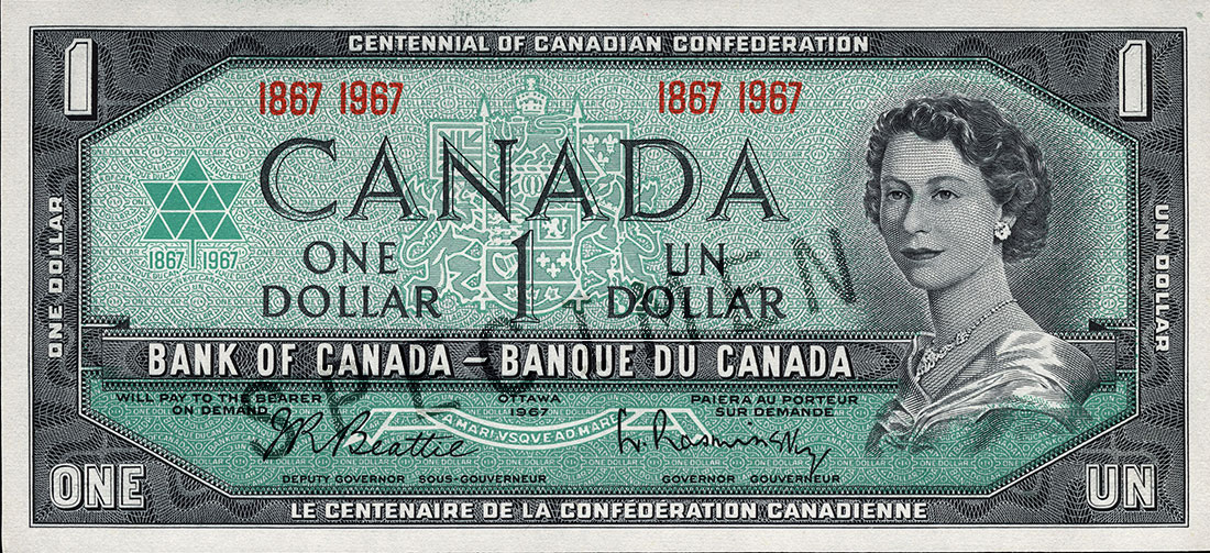 1967 series,100 years of Confederation in Canada
