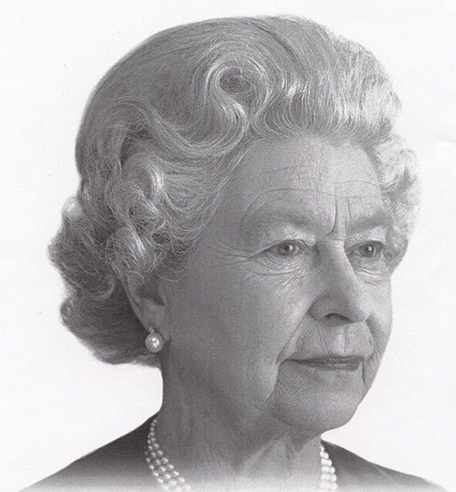Queen Elizabeth II, photograph by Charles Green, print, c. 2000, acquired in 2012 from Bank of Canada Currency Department, National Currency Collection, #2012.0063.00347