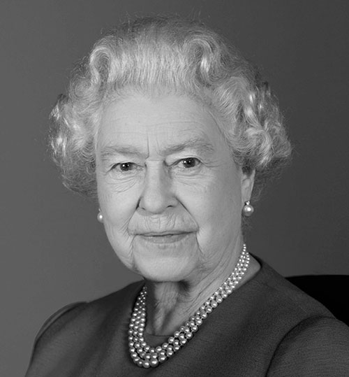 Queen Elizabeth II, photograph by Ian Jones, November 2009