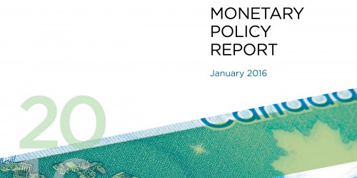 Monetary Policy Report - January 2016