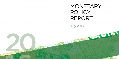 Monetary Policy Report - July 2016