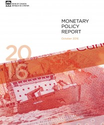 Monetary Policy Report - October 2016