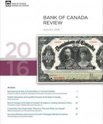 Bank of Canada Review - Autumn 2016