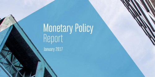 Monetary Policy Report - January 2017