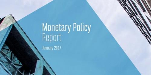 Monetary Policy Report - January 2017