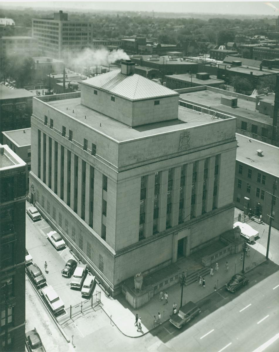 Bank of Canada Building in 1964. Credit: Newton Photography Associated