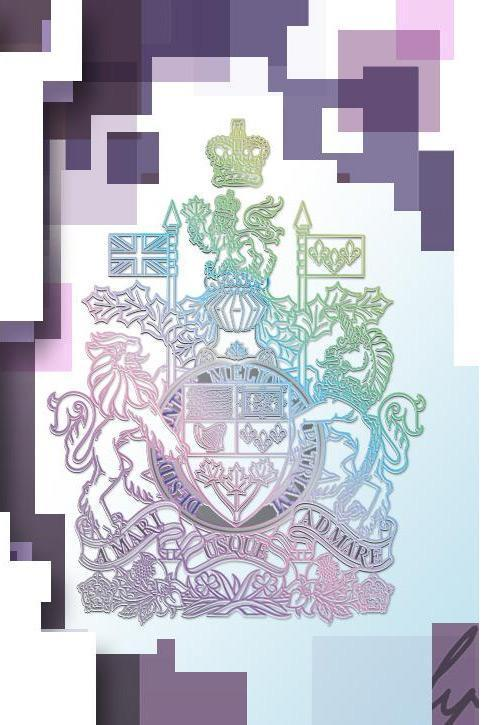 Metallic Coat of Arms on $10 note