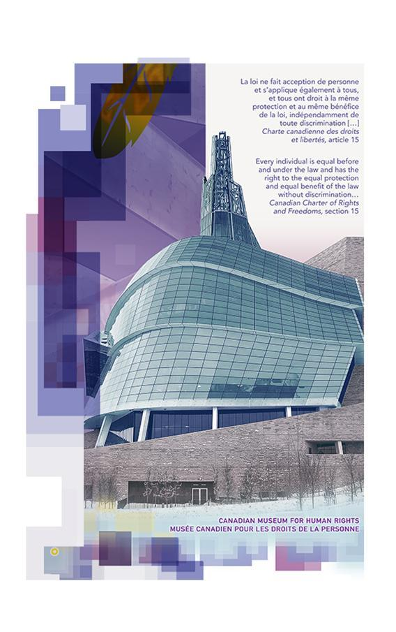 Canadian Museum for Human Rights on $10 note