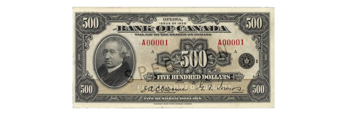 Upcoming changes to legal tender status for older bank notes