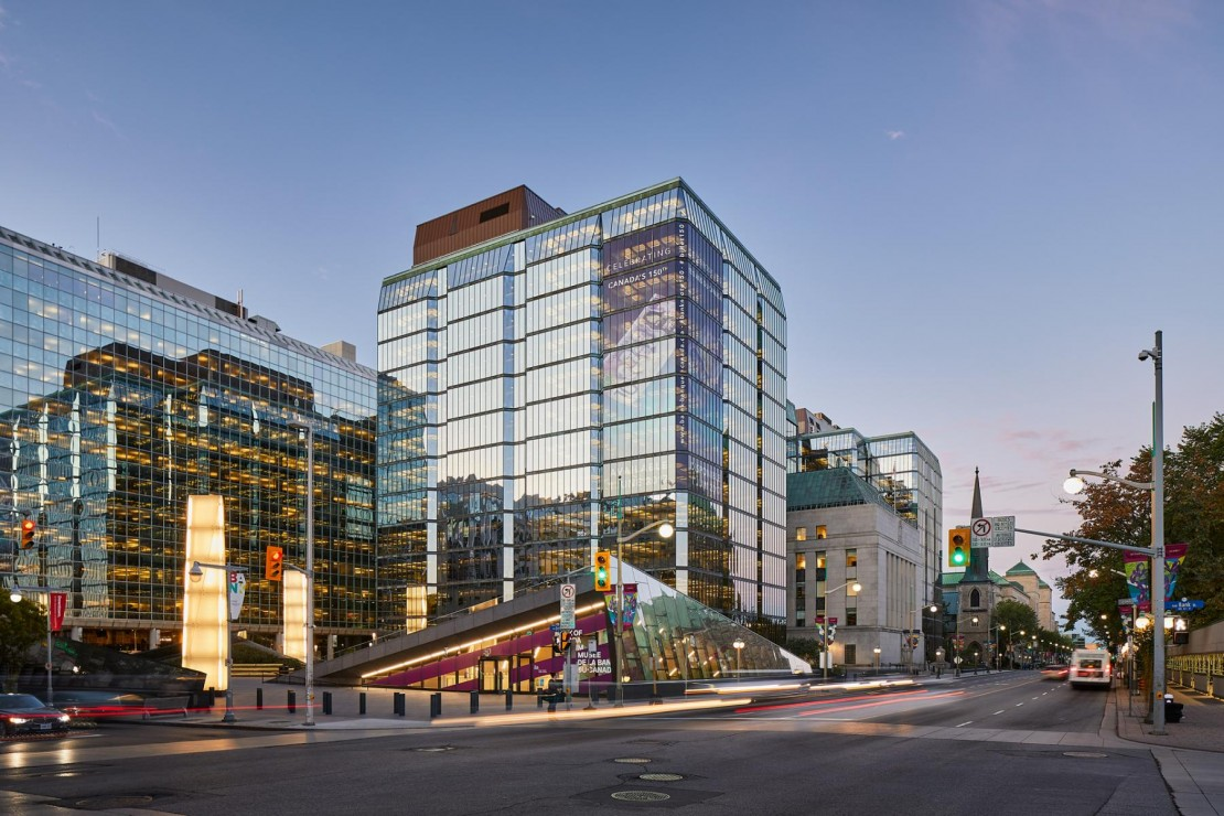 The Bank of Canada Headquarters
